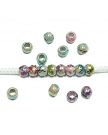 Acrylic Spacer Bead Random Colors