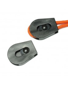 SINGLE - 6mm Plastic Cord Lock w/Wheel