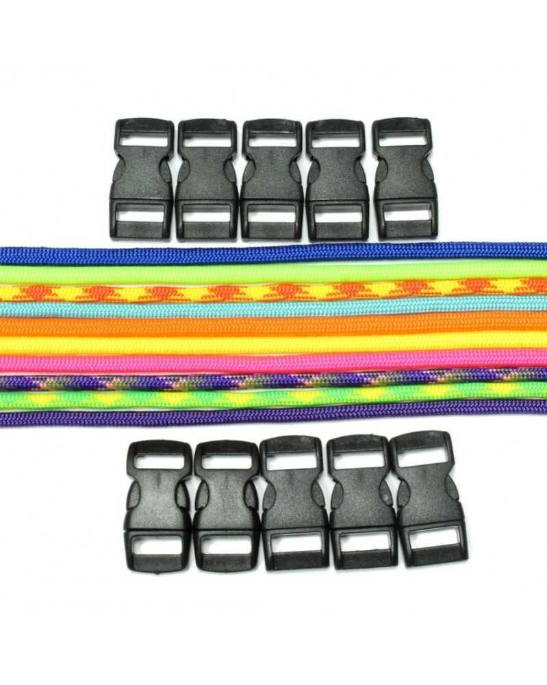 550 Paracord - Neon Bracelet Kit 2