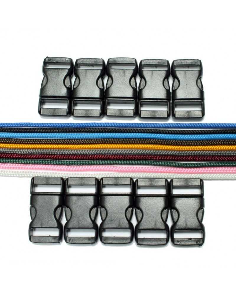 Type 1 Paracord - Solid Colors (A) Bracelet Kit 32