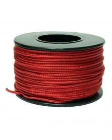 Micro Cord Red 1.18mm 125 ft Made in USA