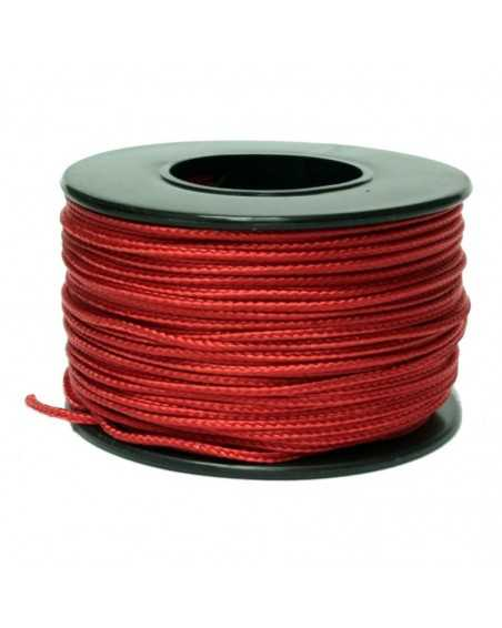 Micro Cord Deep Red 1.18mm Made in USA