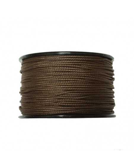 Micro Cord Brown 1.18mm Made in USA