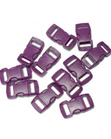 3/8 IN - PURPLE LITE - Side Release Buckles