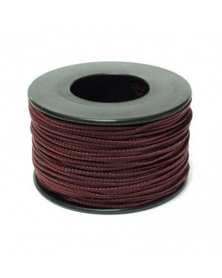 Micro Cord Maroon Dark 1.18mm Made in USA
