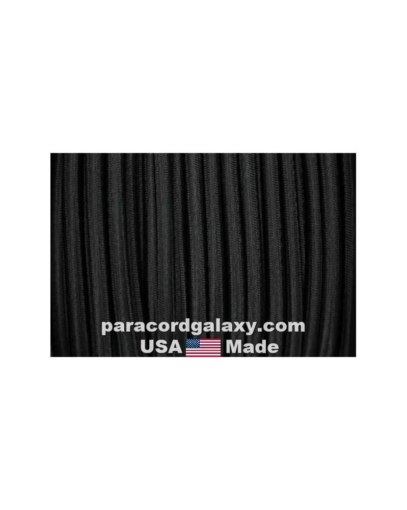 "1/4"" Black Shock Cord USA Made"