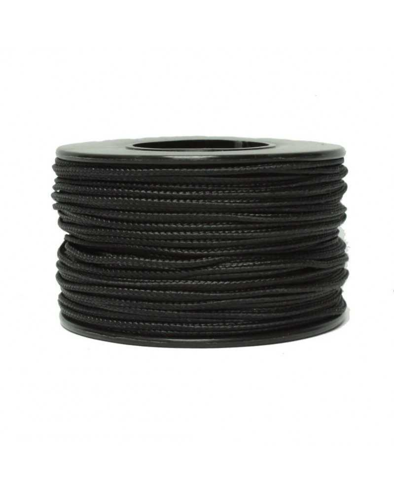 Micro Cord Black 1.18mm 125 ft Made in USA