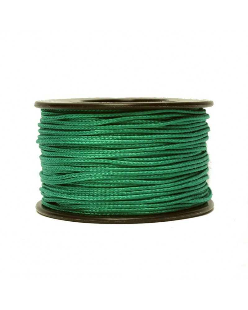 Micro Cord Green 1.18mm 125 ft Made in USA
