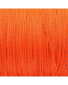 Micro Cord Reflective Orange Made in USA