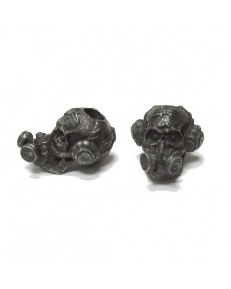 Schmuckatelli Black Oxidized Brous Bead USA Made