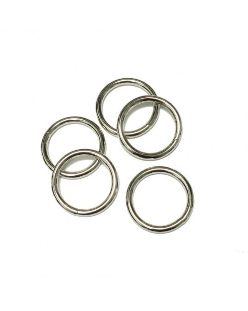1 IN Welded Steel O Ring