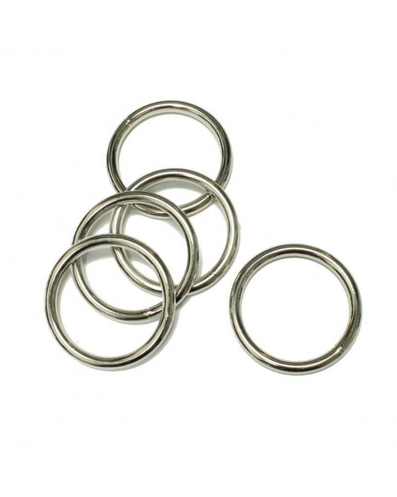 1 1/4 IN Welded Steel O Ring 32mm