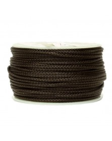 Micro Cord Acid Dark Brown Made in USA