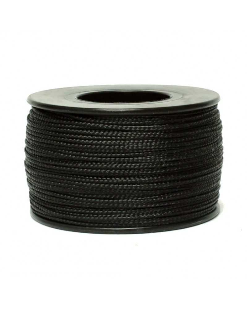 Nano Cord Black .75mm 300 ft Made in USA