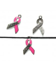 Micro Paracord Cancer Survivor Ribbon