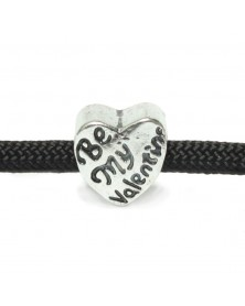 Be My Valentine - European Style - Bead/Charm for paracord