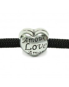 Amour Love Amor - Silver - Bead/Charm