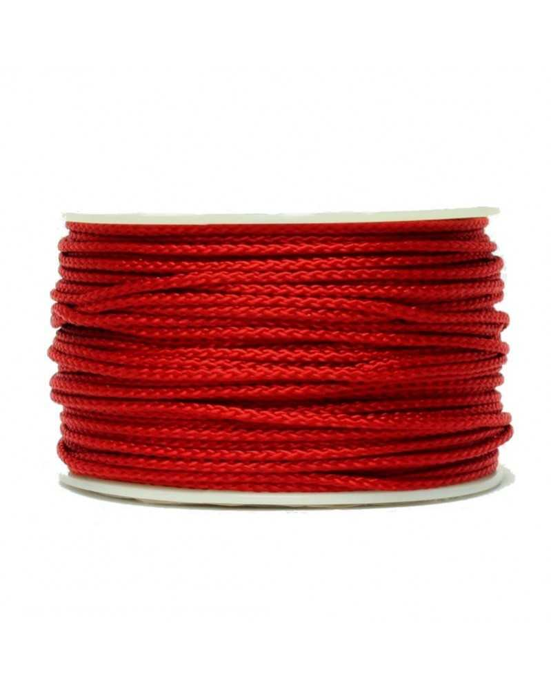 Micro Cord Imperial Red Made in USA