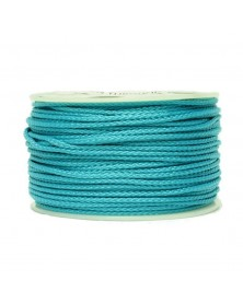 Micro Cord Neon Turquoise Made in USA