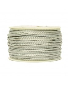 Micro Cord Silver Gray Made in USA