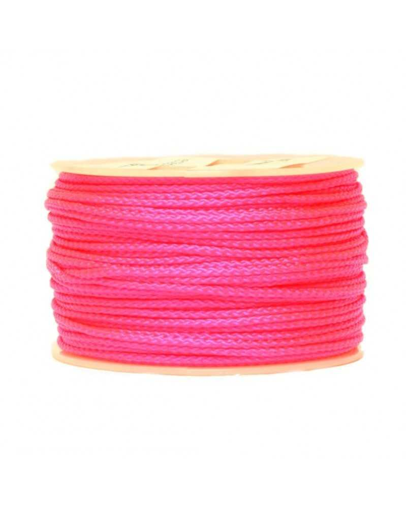 Micro Cord Neon Pink Made in USA