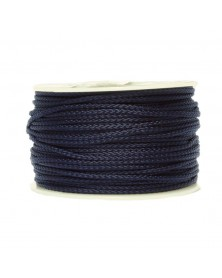 Micro Cord Midnight Blue Made in USA