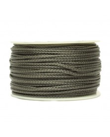 Micro Cord Charcoal Gray Made in USA