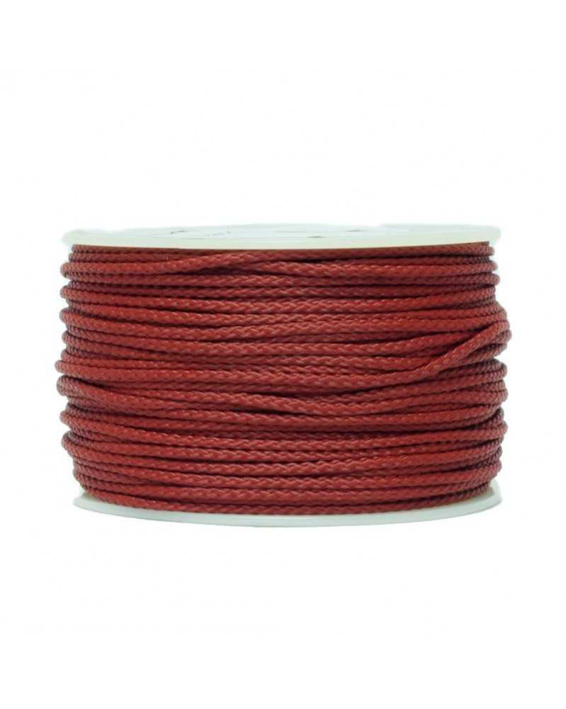Micro Cord Crimson Made in USA