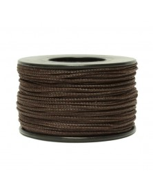Micro Cord Chocolate 1.18mm 125 ft Made in USA
