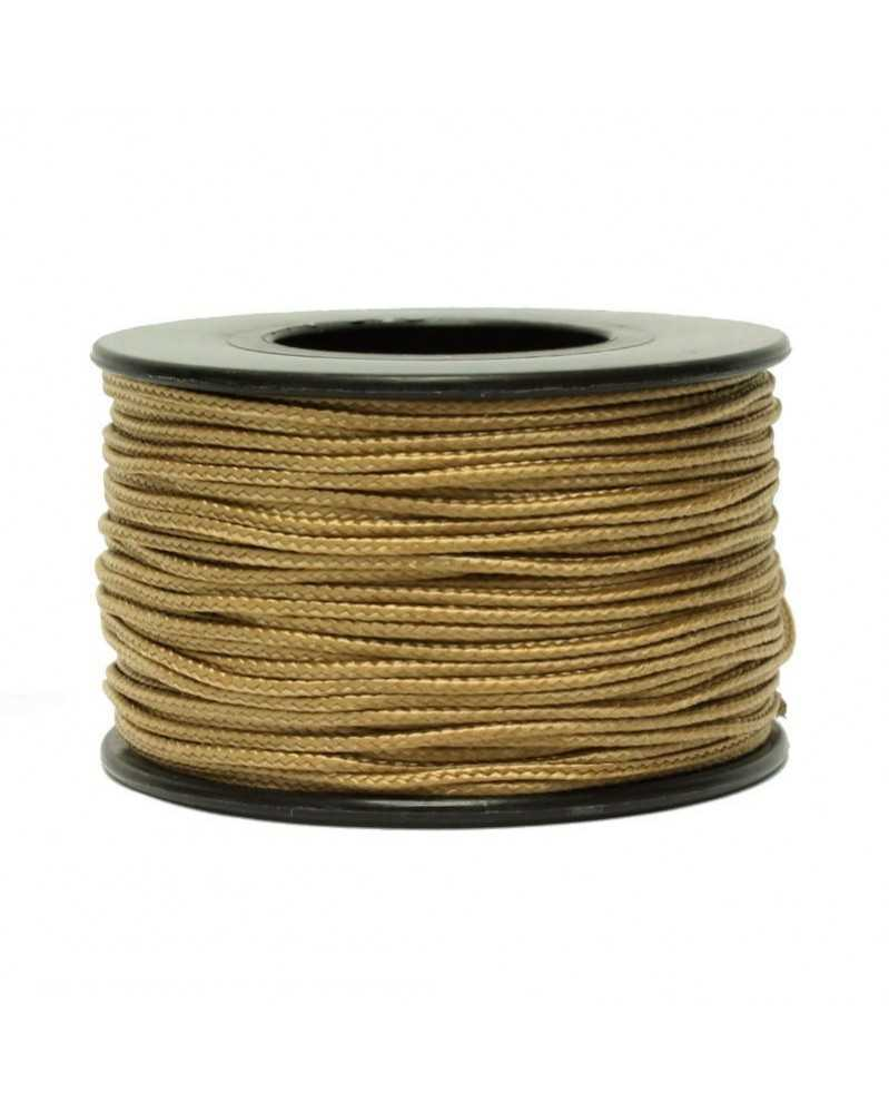 Micro Cord Tan 1.18mm 125 ft Made in USA