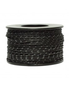 Micro Cord Reflective Black Made in USA