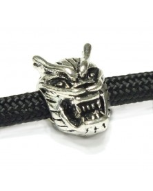 Single - Dragon Skull Bead for 550 Paracord