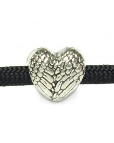 Winged Heart Bead/Charm