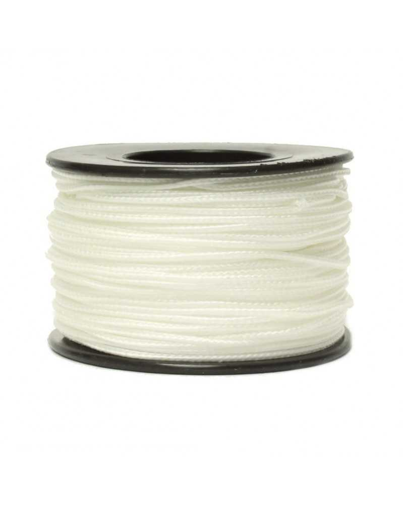Micro Cord White 1.18mm 125 ft Made in USA