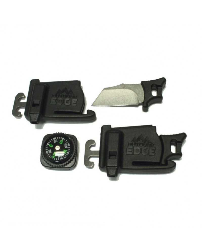 Para-Spark Knife Buckle (ParaSpark) with Compass