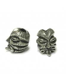 Kiko Tiki Pewter USA Made Single Bead