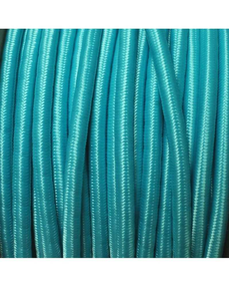 "1/8"" Neon Turquoise Shock Cord USA Made"