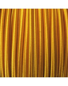 "1/8"" Goldenrod Cord (Shock Cord) Marine Grade Made in USA"