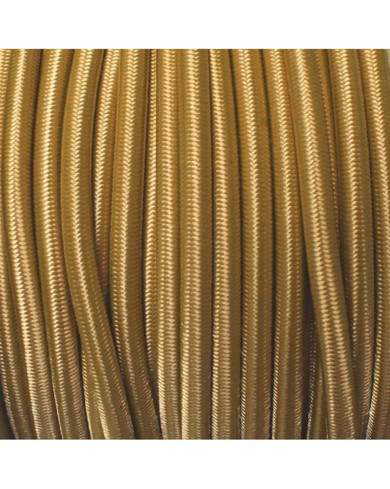 "1/8"" Gold Shock Cord USA Made"
