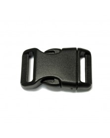 3/4 IN - BLACK - Side Release Buckles