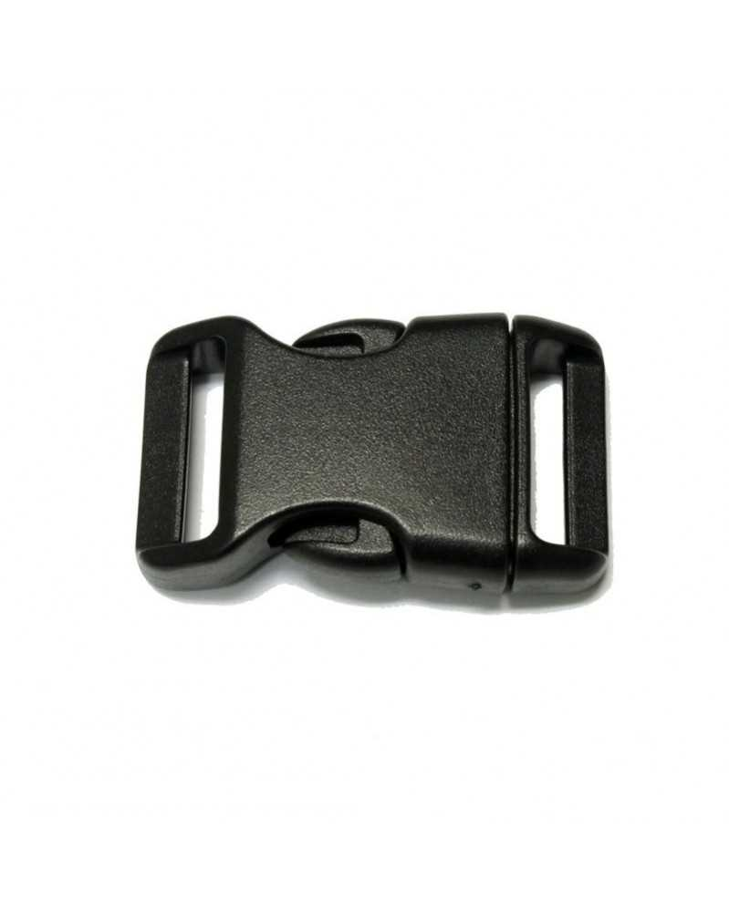 "10 PACK - 3/4"" - BLACK - Side Release Buckles"