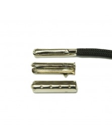 Shoe Lace Aglet Tips - Silver
