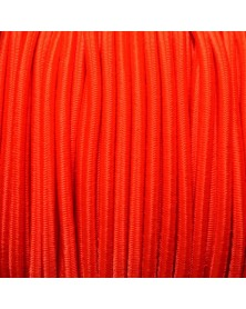 "1/8"" Neon Orange Bungee Cord (Shock Cord) Marine Grade Made in USA"