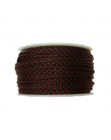 Micro Cord Black W/ Imperial Red Diamond Made in USA