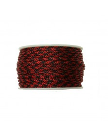 Micro Cord Red and Black Made in USA