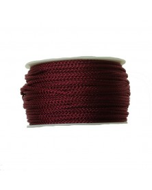Micro Cord Burgundy Made in USA