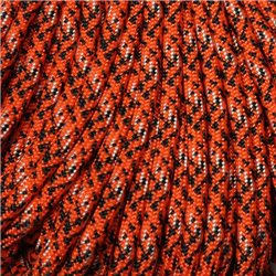 550 Paracord Tsunami Orange Made in USA