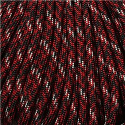 550 Paracord Tsunami Red Made in USA