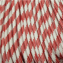 550 Paracord Candy Cane Made in USA