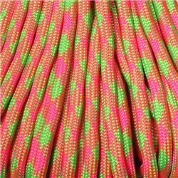 550 Paracord Neon Explosion Made in USA